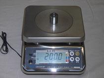 電子台秤 UDS-5VN-WP(0.5g/3kg)(3m3500)